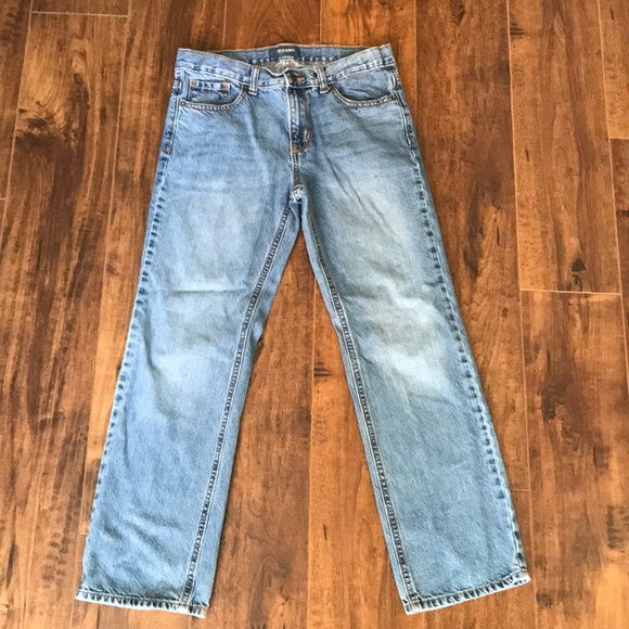 Old Navy Other - 3/$15 Boys husky straight fit light wash jeans